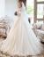 SHIGUANGBEANウェディングディングディングディングディングドレス2019新型新婦ショートドレン水晶ラグジュアリーメーンウェルディディ・レングスドレス