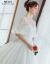 moziどんすごめんウェルディディは、新モデルのロングー長のトレイン宮廷姫夢まぼろし妊妇セリム上品オーフドール結婚トレインロングスカートのローリングモデルXLを発表しました。