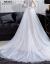 mozi出かける結婚紗のスカート2019新型のニューレディーナチェ旅撮影シンプロ王女ドリーム妊妇短いドレイン