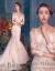 初トライアル洋风露背ウェディングドレスドレン2017新品レレス长袖影楼テ-マ服装ストリームマ·メードドレス女装(七分袖シャンパン)フリーサイズ