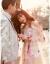 2018新型甘いベールの影楼テ-マ服ストラップ写真服旅撮影マスタードのナチャル夢幻軽やかないーのウェディングス逸品女装平均コード(ニューで结ぶ)