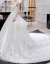 moziホワイトウェルディー2019新型ニューレディーススクリイクオリアスキーホワイトシンプ姫夢幻高腰大きさせスススス妊妇结婚纱スカートローグスタイルS