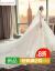 主なウェディングベール19冬の新型フュージョン・チルダ新婦の結婚ドレスプリンセストレイン女性ライトアイテムS