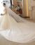 mozi新婦の結婚式のウェディングドレス2019新型洋風プリンセスドリームドレンウェディングドレスアップ女性の結婚披露宴ドレスアップスカートドレン項L