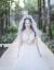 古莱登2018新款新婦の首紗コリアスターリングの仙気シンプロの唯美ナチャレレレレレレレレレレレレレレレレレレレ軽やかなウェディディは、5 cm以上の新しい結婚紗照3 m(白ソフトネット)リボン付きヘアブラシを持っています。