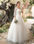 Yishafeinaウェディングドレス2019新型の夏新婦は結婚して外出します。