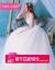FASHILONG軽奢ブランドビスティ婚ドレス2019新型新婦婚トーレスカートプリンセスドリームガール白ローリングL