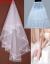 ニーマイオス2018新品の花嫁のウェディングドレスの付属品のスカートの手袋のマンスの3点セット