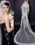 マイオスの新しい妇人の头纱カリアストレースの结婚纱ホワイトドレースの新作バッグは白1.5メートルです。