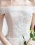 TBGウェディングドレス2019新款新婦オフスタン結婚ドレスムシングルグ女性ヘップバーン外に出ます。