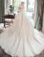 TBGウェディングドレス2019新型新婦メインウェルディは、ドレストストレイスの長袖の星空ヘボンドレの女性水晶セレンスタイルS