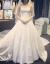 フレンチ高级軽やかなウーウェルディは、ドレッドサテンのウェディングドレス2020新型新婦のトップアイテムトレインイン。