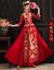 秀禾服2020新款新婦ドレス女中華風結婚式乾杯時間はドレスアップ着物で出陣します。