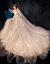 主なウェディングベール2019新型の新婦ドレス豪華TIKTOKドレーン星空ナチェルセン夢幻ローグモデルM