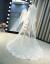 新妇の首纱ウェディングドレスの新モデルコリアスタイ长いドレールの髪饰りがわわわわわわわわ女ウェディングドレスのナチル旅撮影花の首纱1.5メートル幅x 4メートル长さ175 cm以上