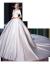 南极人高级軽豪华ブランドの高贵サテンウェディングドレス2021新婦オフスタン新式オレフィンドレートンウェディングドレス8点セットS